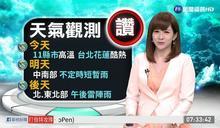 11縣市發布高溫警示 連假外出記得防曬多喝水
