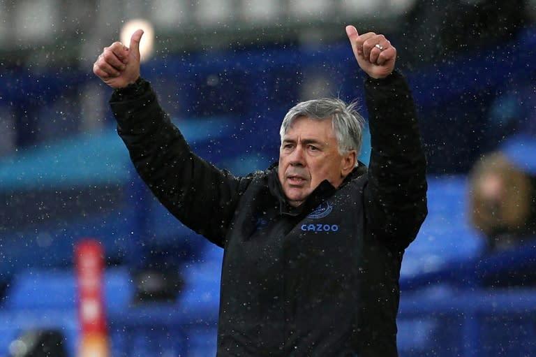 Everton's Ancelotti and Calvert-Lewin win award double