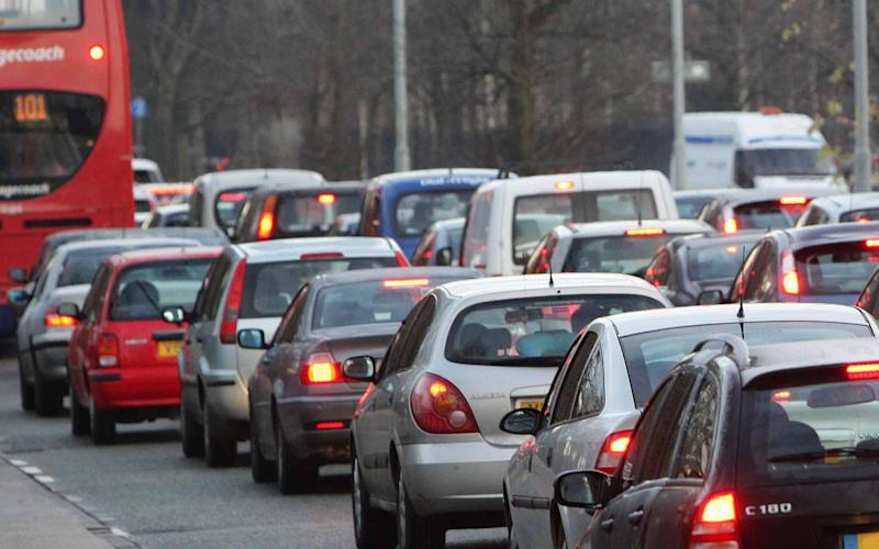 Traffic is back to normal levels in the morning, the RAC said - Dave Thompson/PA
