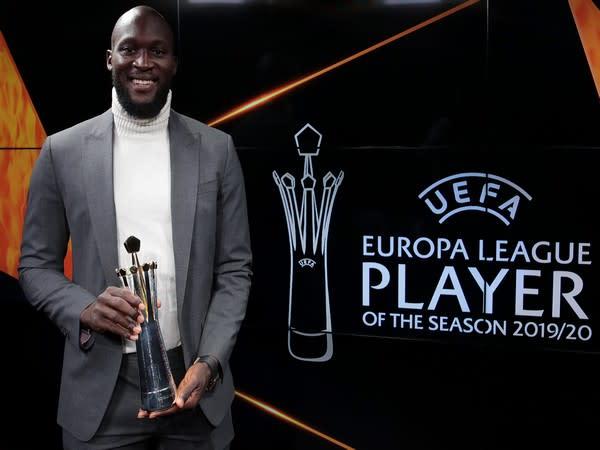 Romelu Lukaku (Photo/ Europa League Twitter)