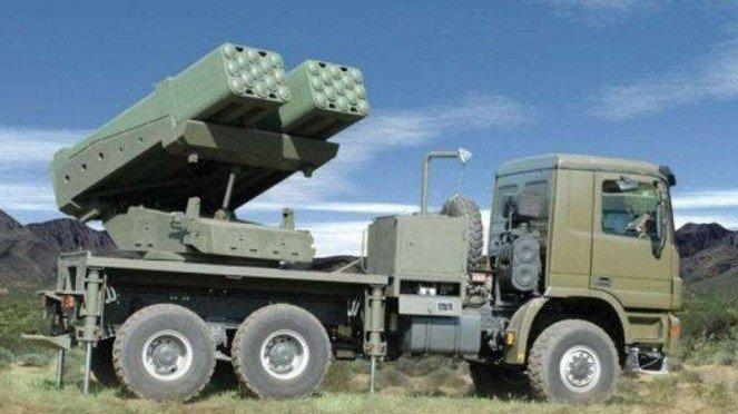 VIVA Militer: Sistem peluncur multi-roket Lynx militer Azerbaijan