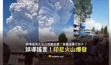 【謠言】越南天空出現蘑菇雲?猶曇菠蘿花影片?印尼火山爆發