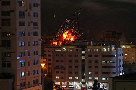 Gaza-Israel violence flares into second day with rocket ...