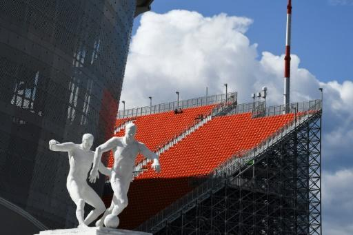 Yekaterinburg is the most eastern of all the host cities at the World Cup