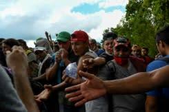 Ribuan migran tujuan AS meningkat memasuki Guatemala