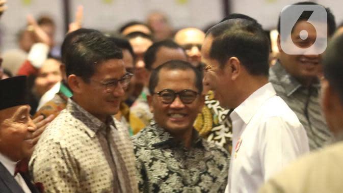 Kode Keras Jokowi untuk Sandiaga Uno di Pilpres 2024