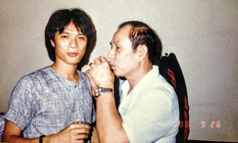 蔡詩萍》我父親已經很習慣了,只在乎家人滿足的微笑