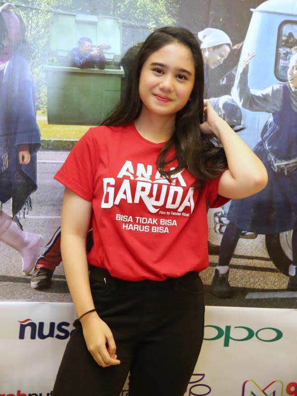Film Anak Garuda menjadi pengalaman pertama Tissa untuk syuting di luar negeri. Diakuinya, ini kali pertama untuknya bisa jalan-jalan tetapi mendapat bayaran. (Adrian Putra/Fimela.com)