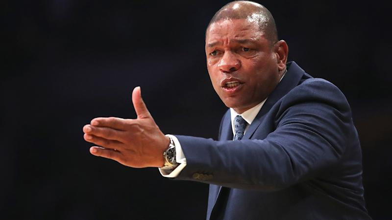 Los Angeles Clippers coach Doc Rivers, pictured, has joked that he shouldn't have paid for the wedding of his daughter Callie and NBA player Seth Curry.