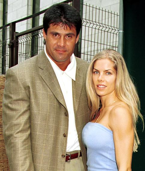 Jose Canseco and Jessica Canseco
