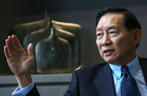 HSBC's Peter Wong sees potential in bay area. Photo: Jonathan Wong