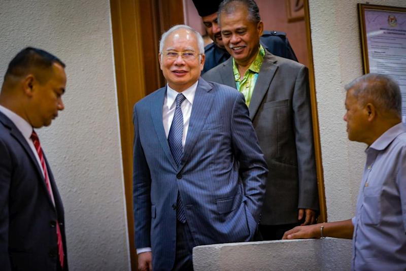 Datuk Seri Najib Razak says he is hopeful that the government's stimulus packages that will be announced today would use the same approach as it has proven to be successful. ― Picture by Hari Anggara