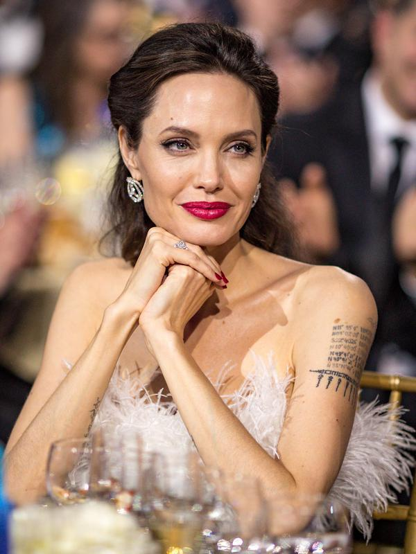 Angelina Jolie. (Christopher Polk / GETTY IMAGES NORTH AMERICA / AFP)