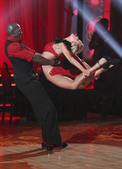 Donald Driver and Peta Murgatroyd (4/16/12)