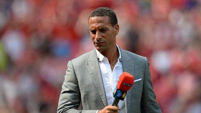 Mantan pemain Manchester United, Rio Ferdinand. (AFP/Oli Scarff)