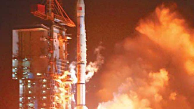 Roket China Nyaris Hantam Bangunan Sekolah
