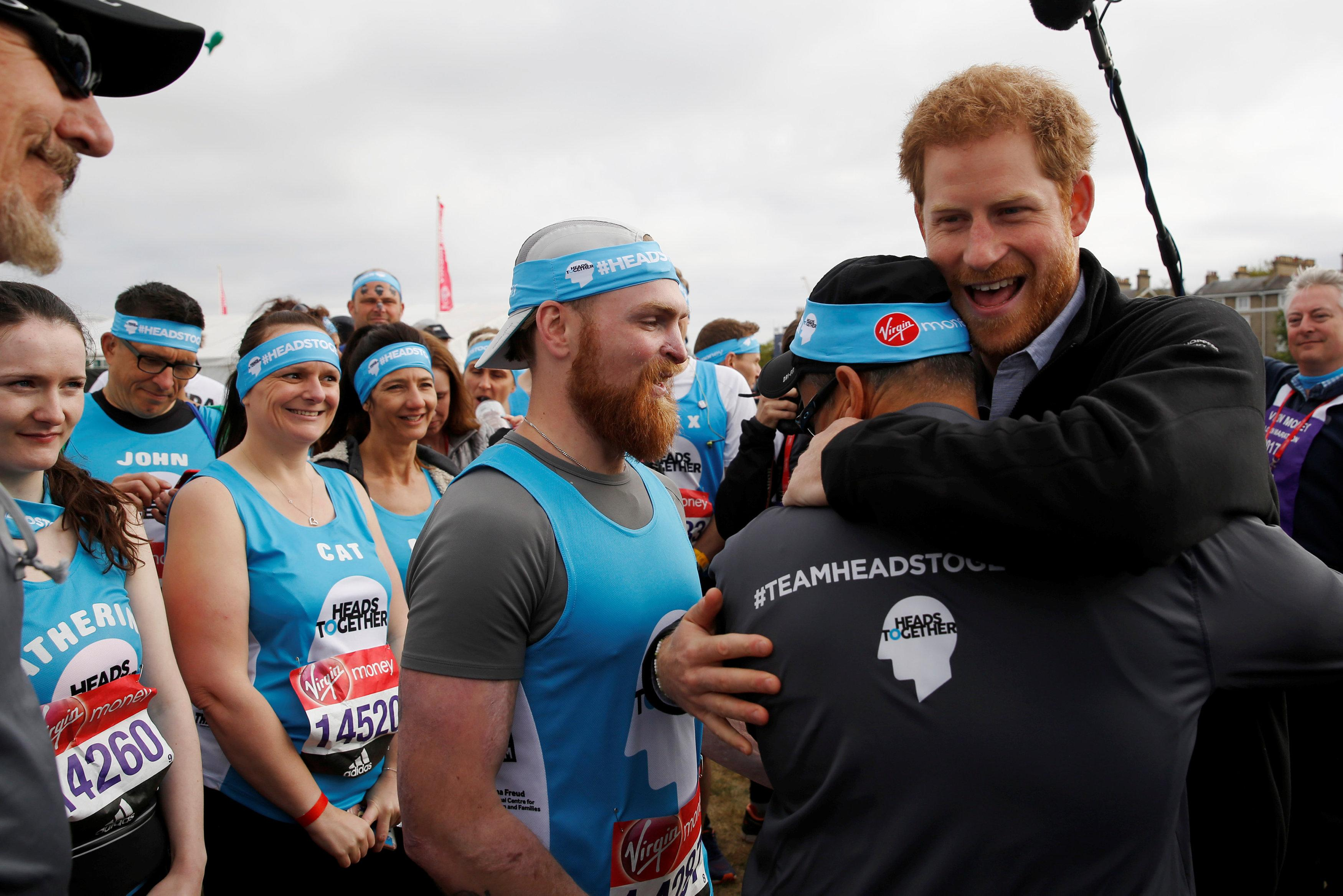 Chris Ship recalls Prince Harry telling him he sees sharing his own experience with mental health as a way of imparting his 'duty and service' (Picture: PA)