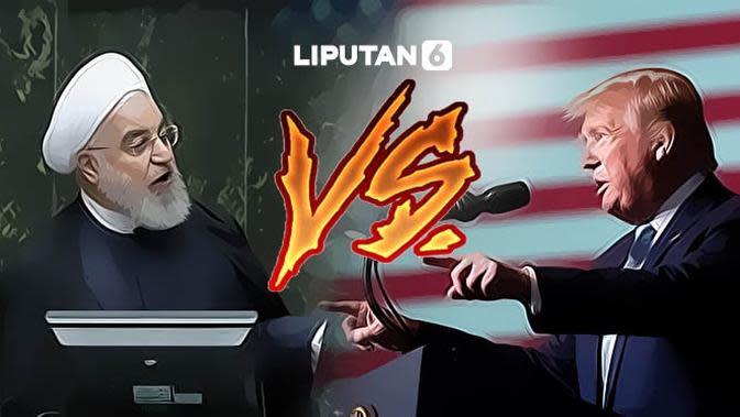 Banner Infografis Dampak Global Konflik AS Vs Iran. (Liputan6.com/Abdillah)