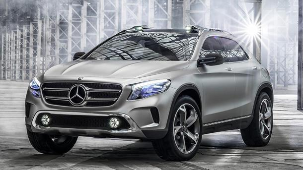 2014 Mercedes-Benz Concept GLA, bringing drive-in movies back to the future