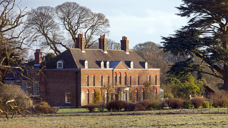 Anmer Hall of Anmer sits inside the Sandringham Estate and was gifted to Kate and William by the Queen as a wedding present