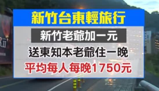 新竹老爺也推出加1元送台東知本老爺的,住房專案,每人最低只要1750元。(圖/東森新聞資料畫面)