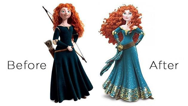 Merida's Disney Princess Controversial Makeover – Is 'Brave' Heroine Really Bad for Little Girls?