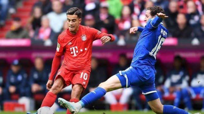 Pertandingan Bundesliga 2019/2020 antara TSG Hoffenheim vs Bayern Munich