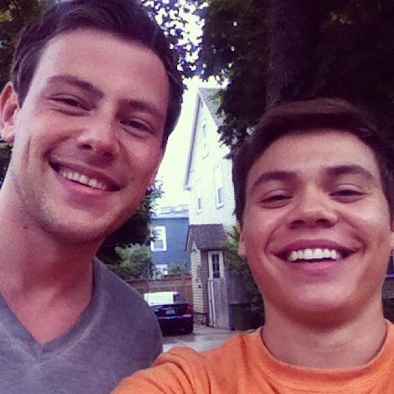 RIP, Cory Monteith: Stars Honor Him With Photos on Twitter - Wayne Burns - Working with @CoryMonteith was surreal, his effect on the world is very evident. RIP my friend, you are a Hero.