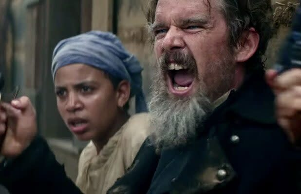 Ethan Hawke Is 'Nuttier Than a Squirrel Turd' in Showtime's 'The Good Lord Bird' Trailer (Video)