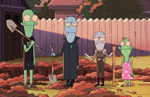 Hulu Renews Animated Comedies 'Crossing Swords' and 'Solar Opposites'