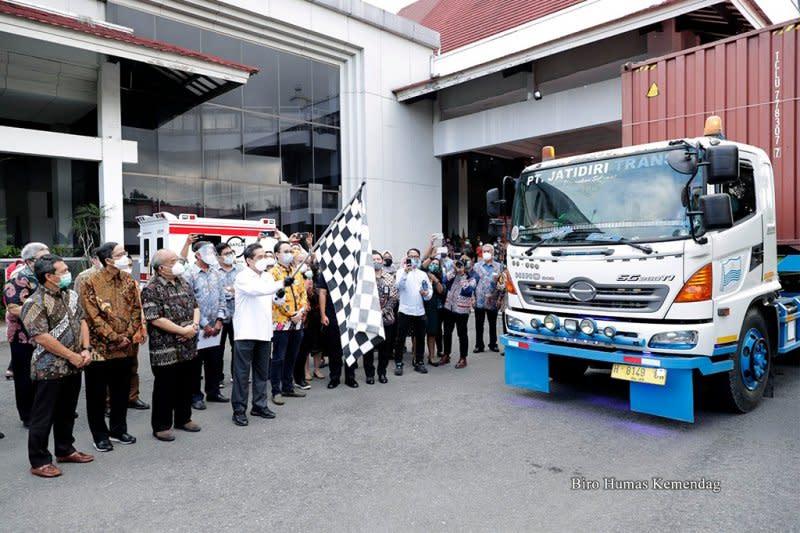 Mendag lepas ekspor Rp10,68 miliar dari Yogyakarta ke AS dan Eropa