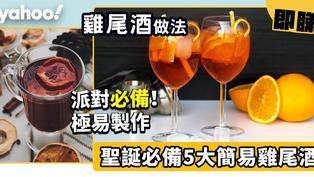 派對雞尾酒做法!聖誕必備5大簡易Party Cocktail教學