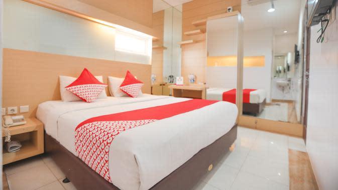 Layanan hotel yang disediakan jaringan kemitraan OYO Indonesia. (Dok. Humas OYO)