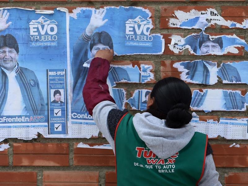 玻利維亞總統成過街老鼠 連軍警都倒戈