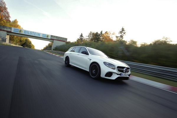 世上最快旅行車是它,Mercedes-AMG E63 S 4MATIC創紐柏林單圈最速紀錄7分45秒19