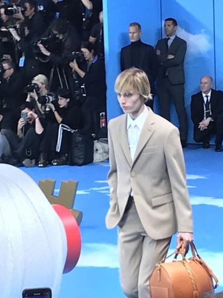 The Louis Vuitton 2020 fall-winter show for Men's Fashion Week in Paris