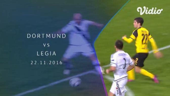 VIDEO: Flashback Liga Champions, 12 Gol Tercipta saat Borussia Dortmund Kalahkan Legia Warszawa