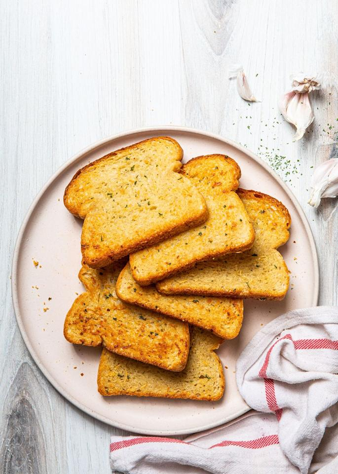 "<p>An Italian-American classic!</p><p>Get the recipe from <a href=""https://www.delish.com/cooking/recipe-ideas/a33082534/texas-toast-recipe/"" target=""_blank"">Delish</a>.</p>"