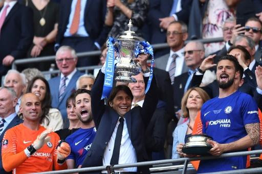 Conte led Chelsea to Premier League and FA Cup titles in his two seasons in charge