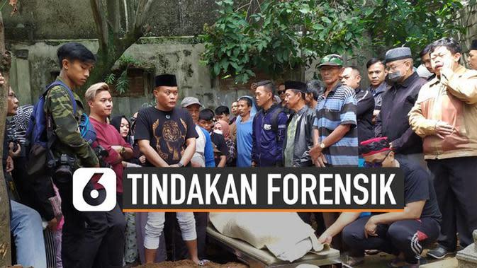 """VIDEO: Penjelasan """"Sampel Racun"""" Tindakan Forensik Jenazah Lina"""