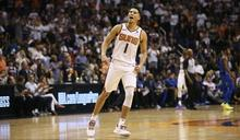 NBA/太陽又贏 布克連3戰35分