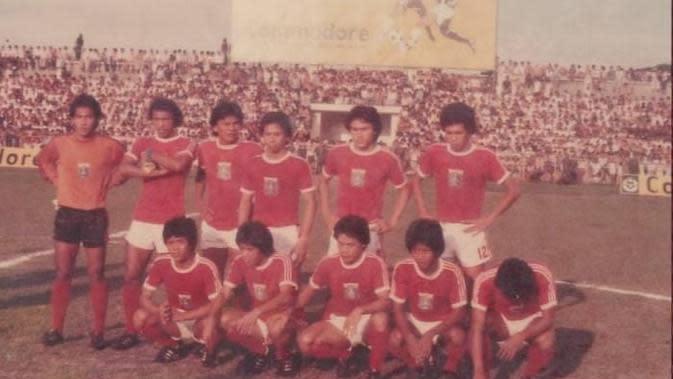 Tim Persija Jakarta saat tampil di Marah Halim Cup. (Aguz Al Fatih)