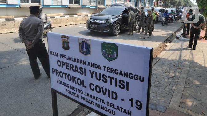 Polisi Sebut Denda Pelanggar Protokol Kesehatan Covid-19 Capai Rp 2 Miliar