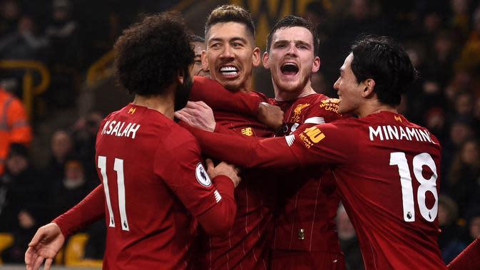 Prediksi Super Computer soal Perolehan Poin Liverpool di Klasemen Akhir Premier League 2019-2020