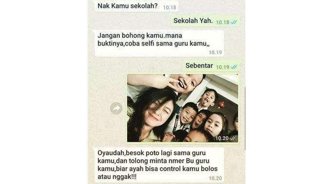 5 Chat Minta 'Pap' Ini Bikin Geleng Kepala Sekaligus Geregetan (sumber: Instagram.com/ngakakkocak)