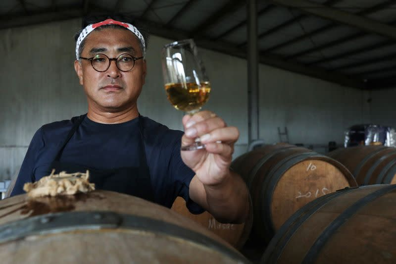Taiwan's award-winning winemaker aims to revive fading tradition