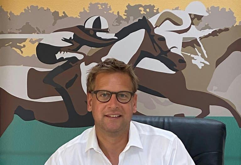 ITV Racing presenter Ed Chamberlin
