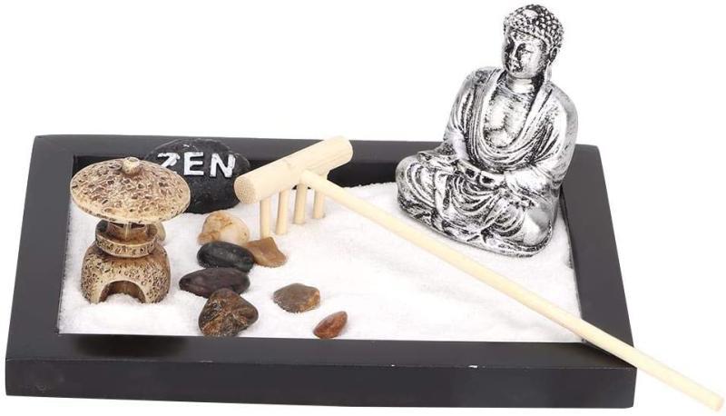 Tabletop Zen Garden. (Image via Amazon)