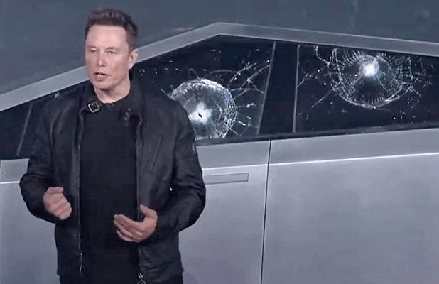 Elon Musk's Tesla Cybertruck Unveiling Did Not Go as Planned: 'Oh My F–ing God'