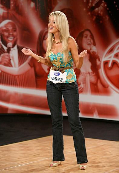 Atlanta Audition: Brooke Helvie, 18, performs in front of the judges on the 7th season of American Idol.